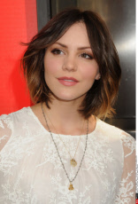 Katherine Mcphee on the red carpet at the Hollywood premiere of True Blood season 6