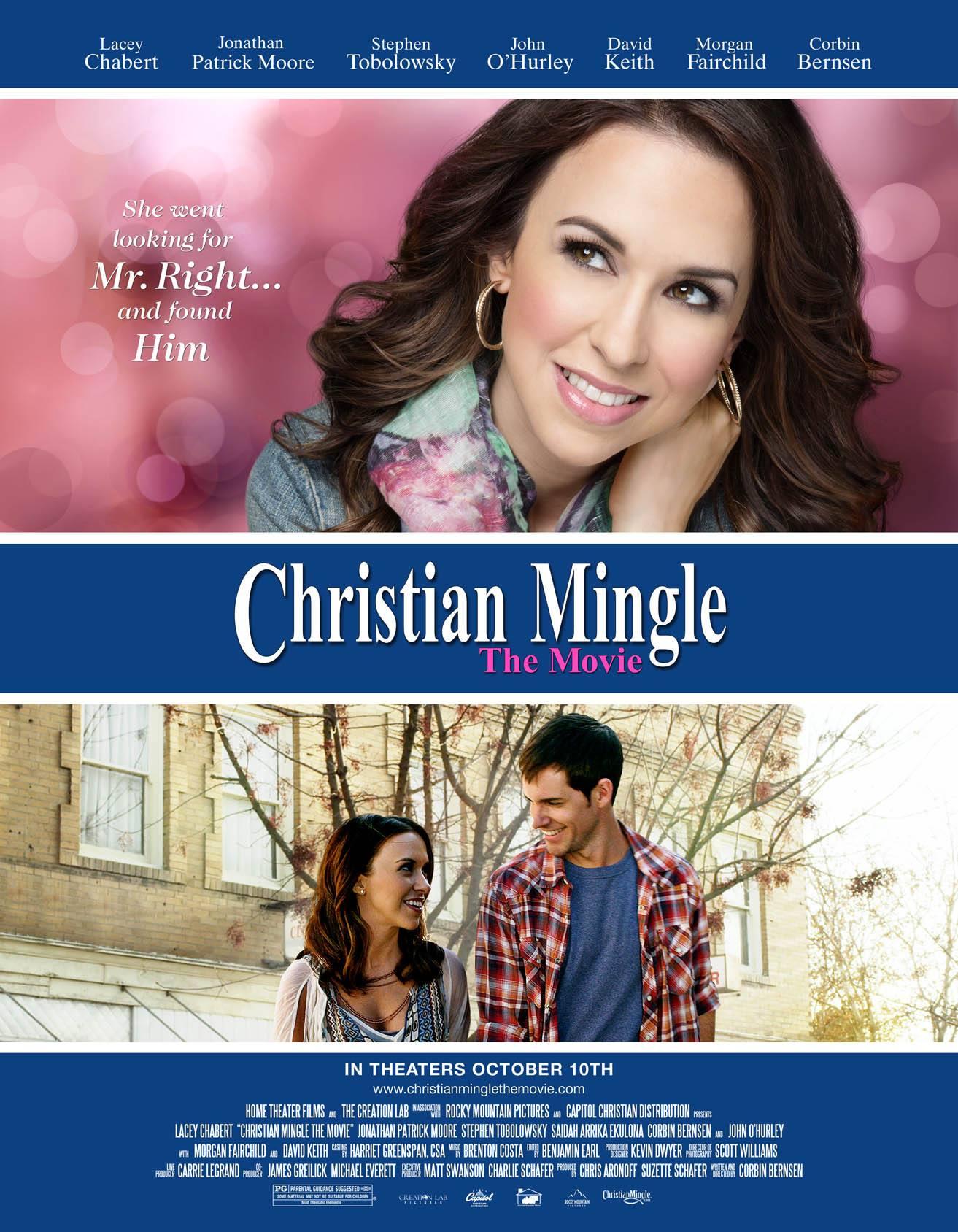 Lacey Chabert   Christian Mingle movie ad