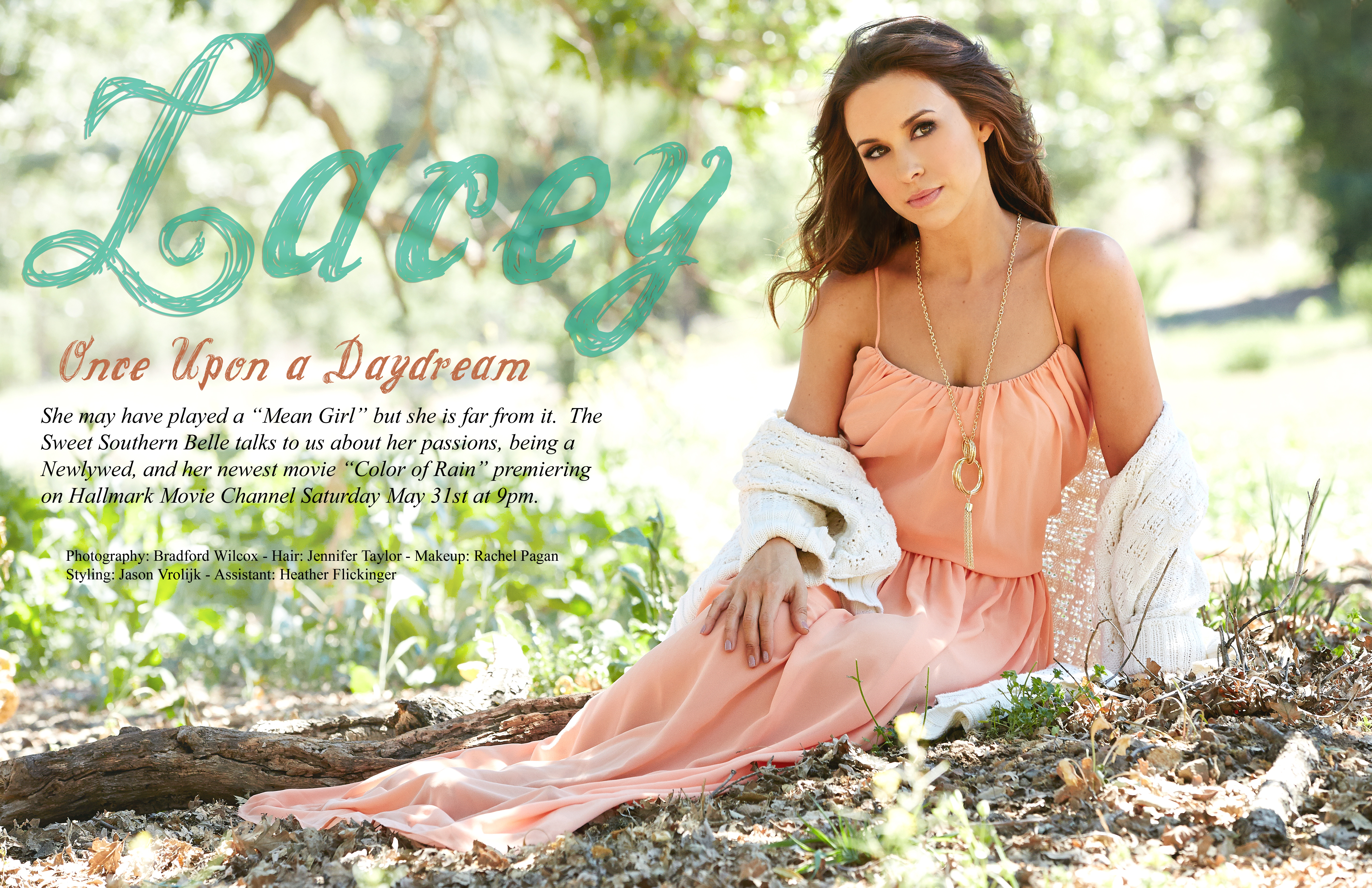 Lacey Chabert | Color of Rain Ad