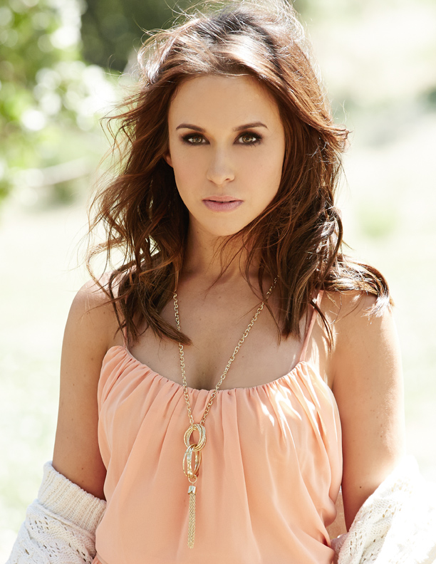 Lacey Chabert The Color of Rain promo shoot
