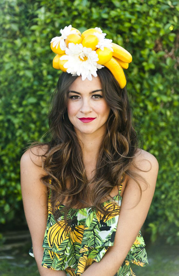 bananas hat yellow and greenawake by the pool | Show Me Your MuMu