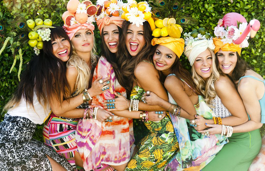 citrus hat girls all together | Show Me Your MuMu