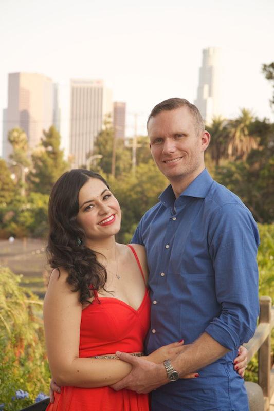 Ben and Darlene forever engagement photo