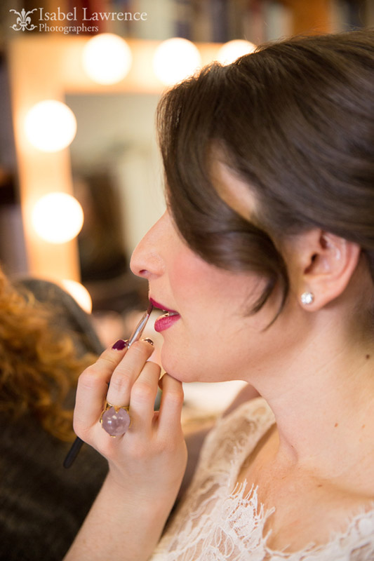 wedding makeup done right