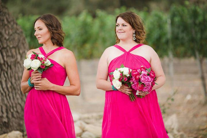 Sarayu Rao's bridesmaids